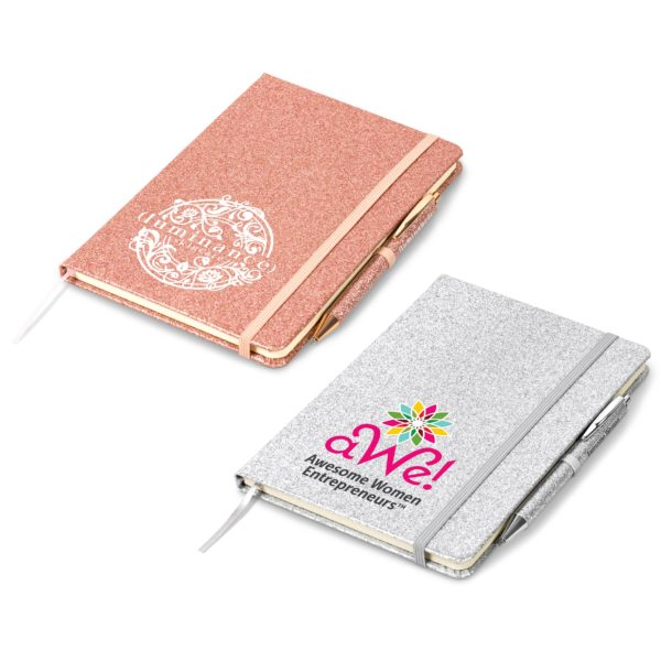Sparkle A5 Notebook
