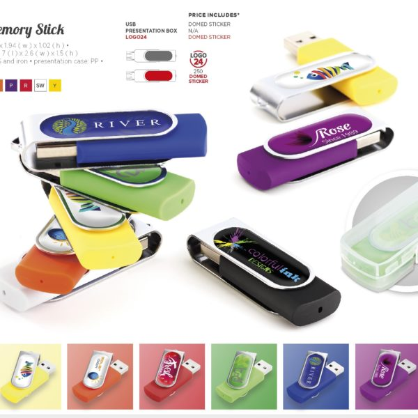 Swivel memory stick - 16GB