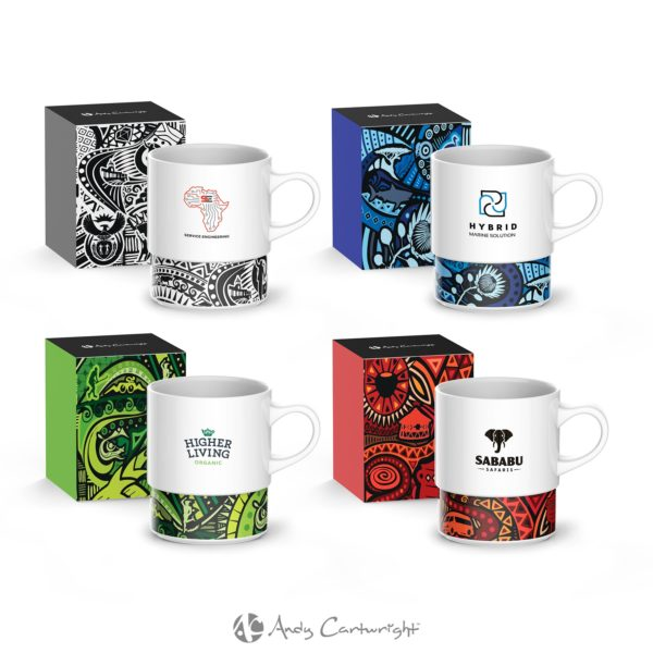 Andy Cartwright 'I Am South African' Coffee Mug - 380Ml